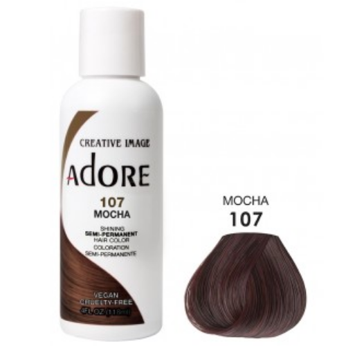 Adore Semi-Permanent Hair Colour - Mocha 107