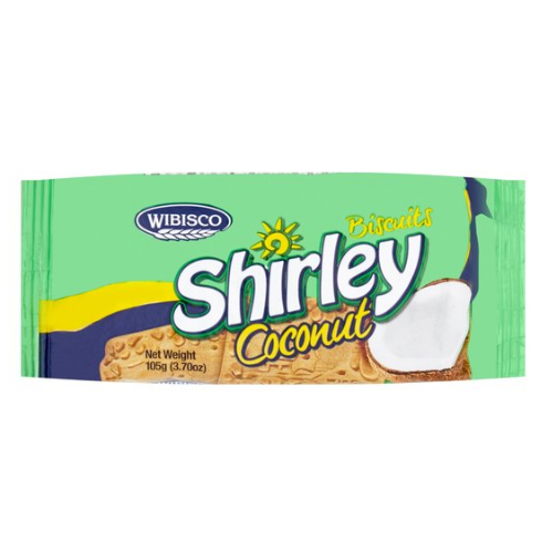 Shirley Biscuits Coconut 105g