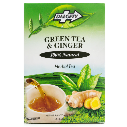 Dalgety Green Tea & Ginger - 18 Teabags