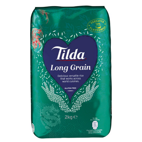 Tilda Long Grain Rice 2kg