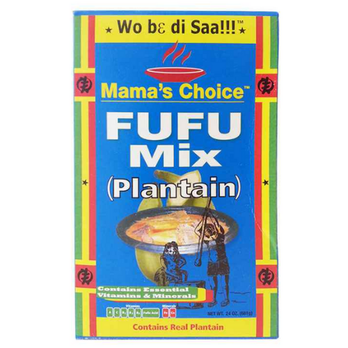 Mama's Choice Plaintain Fufu Mix