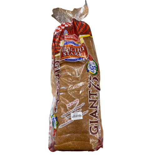 National Giant 75% Hardo Bread Sliced 907g