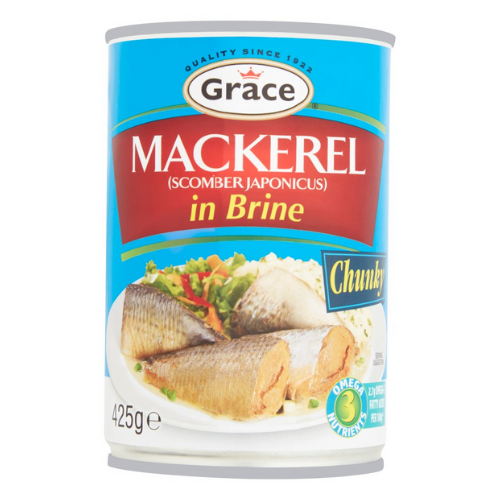 Grace Mackerel in Brine 425g