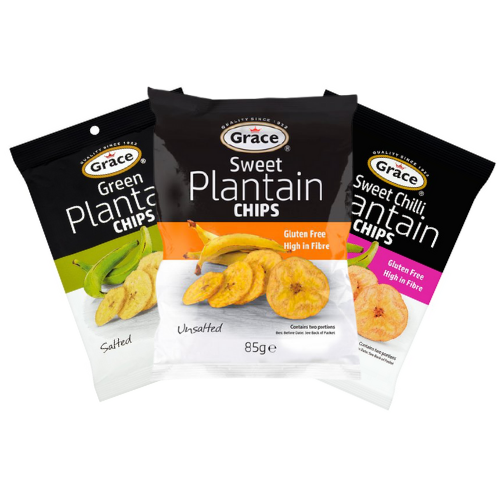 Grace Plantain Chips 85g