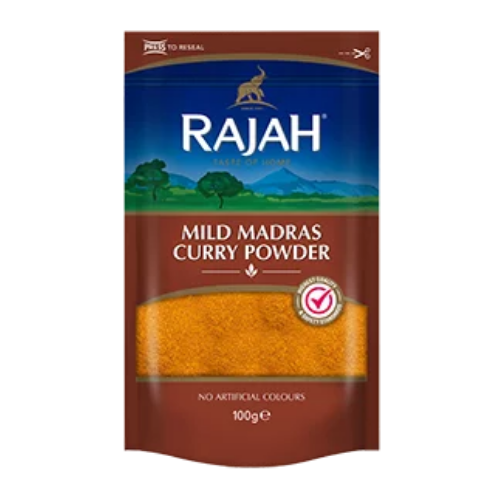 Rajah Mild Madras Curry Powder