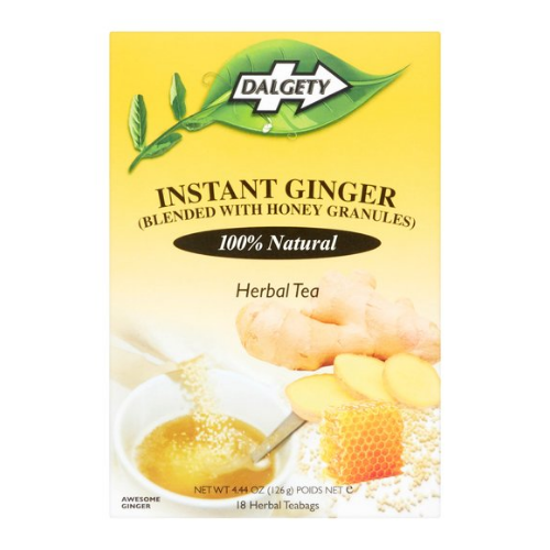 Dalgety Instant Ginger (Blended with Honey Granules) - 18 Teabags