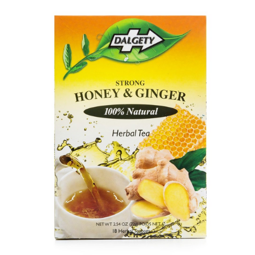 Dalgety Strong Honey & Ginger - 18 Teabags