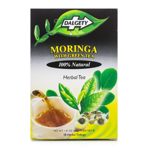 Dalgety Moringa with Green Tea - 18 Teabags