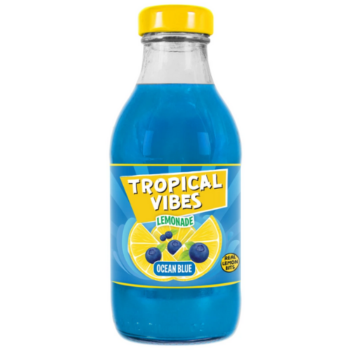 Tropical Vibes Ocean Blue Lemonade 300ml