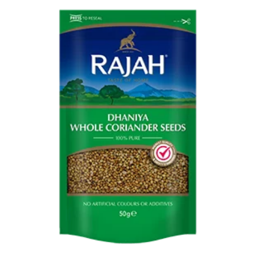 Rajah Dhaniya Whole Coriander Seeds 100g
