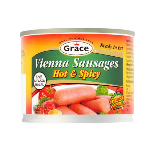 Grace Chicken Vienna Sausages - Hot & Spicy 200g