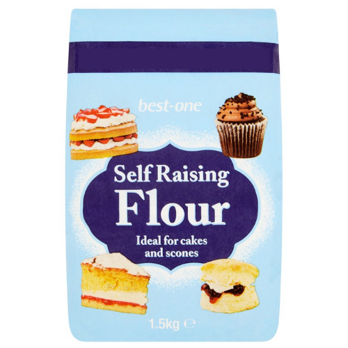 Best-One Self Raising Flour 1.5kg