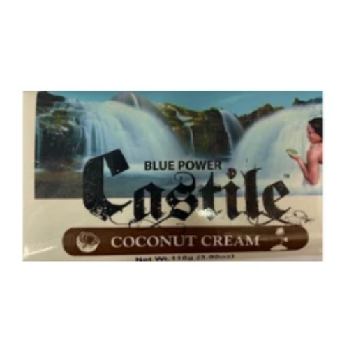 Blue Power Castile Soap - Coconut Cream