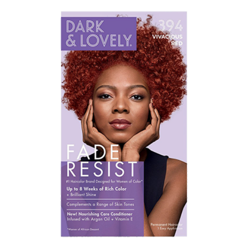 Dark & Lovely Fade Resistant Rich Colour - Vivacious Red 394