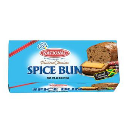 National Traditional Jamaican Spice Bun 28oz
