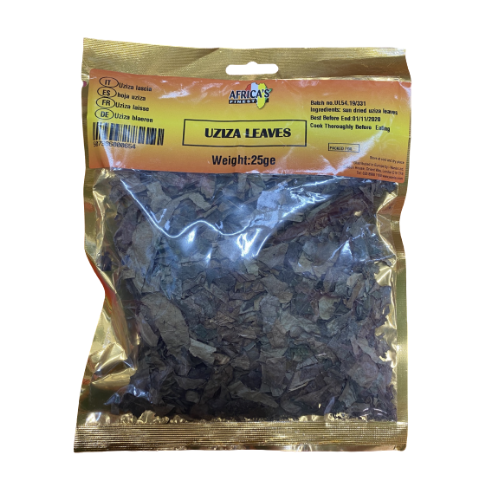 Africa's Finest Uziza Leaves 25g
