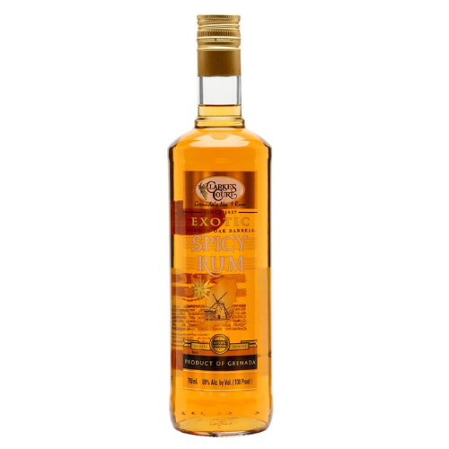 Clarkes Court Exotic Spicy Rum 750ml