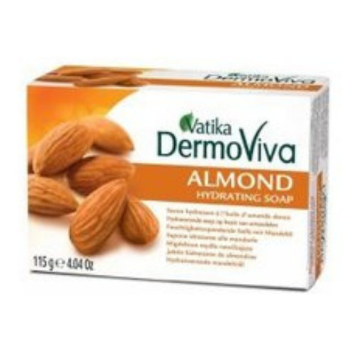 Vatika DermoViva Almond Hydrating Soap 115g
