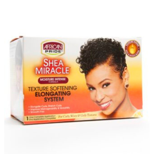 African Pride Shea Miracle Texture Softening Elongating System