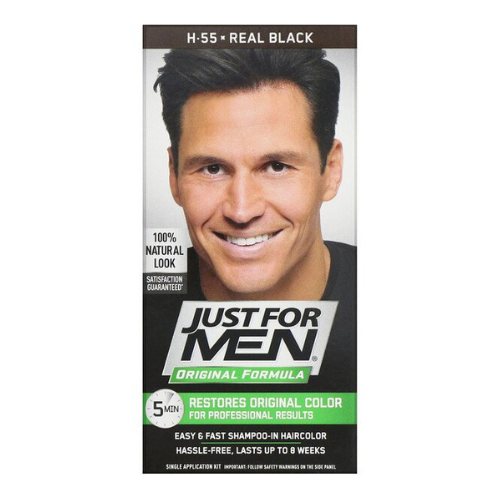 Just for Men Original Formula Men's Hair Color - Real Black H-55