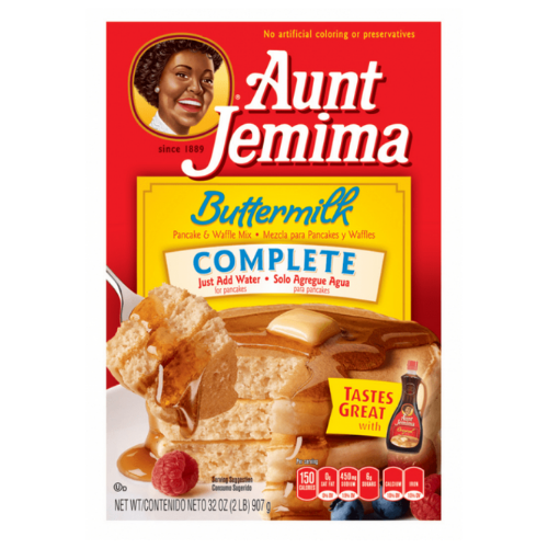 Aunt Jemima Buttermilk Complete Pancake and Waffle Mix 453g