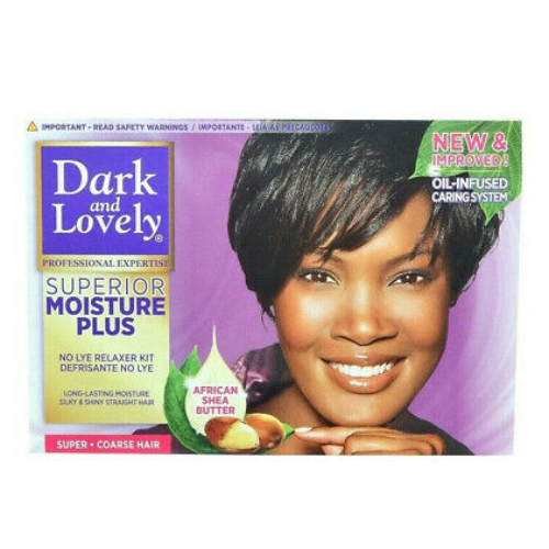 Dark & Lovely Superior Moisture Plus No-Lye Relaxer Kit