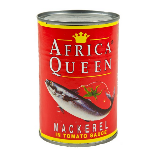 African Queen Mackerel in Tomato Sauce 425g