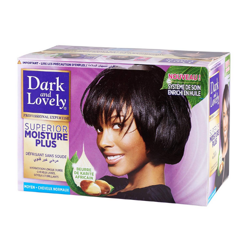 Dark & Lovely Superior Moisture Plus No-Lye Relaxer Kit - Regular