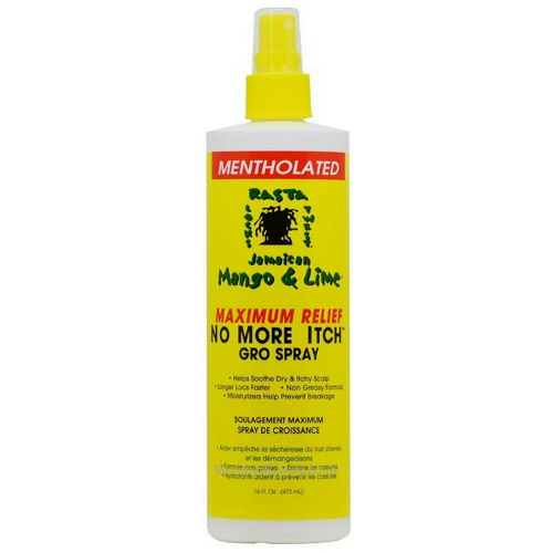 Jamaican Mango & Lime Mentholated No More Itch Gro Spray 8oz