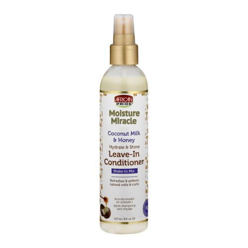 African Pride Moisture Miracle Coconut Honey Leave In Conditioner 8oz
