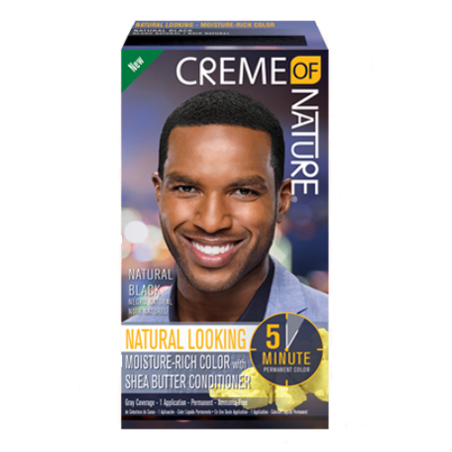 Creme of Nature Moisture-Rich Permanent Hair Colour - Natural Black