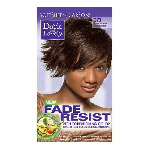 Dark & Lovely Fade Resistant Rich Colour - Brown Sable 373