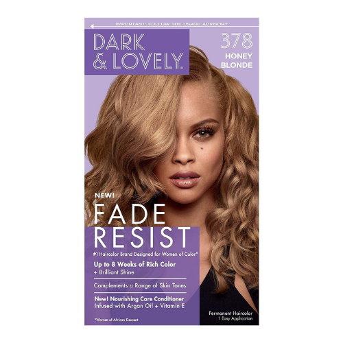 Dark & Lovely Fade Resistant Rich Colour - Honey Blonde 378