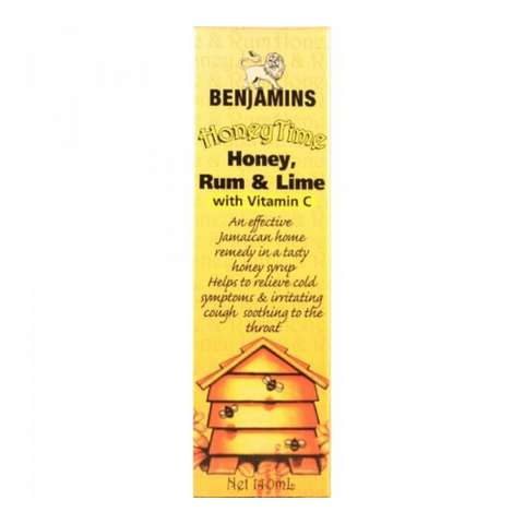 BENJAMINS Honey Time Cough Relief 140ml