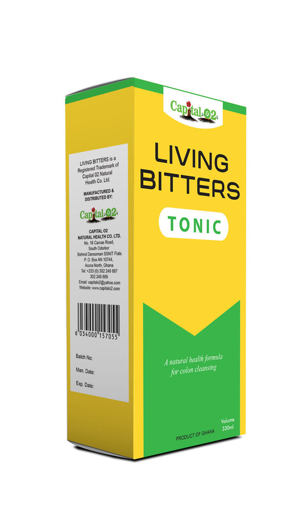 Capital O2 Living Bitters Tonic