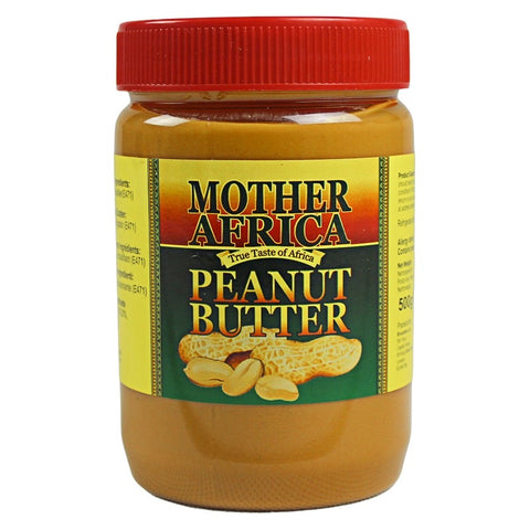 Mother Africa Peanut Butter 500g