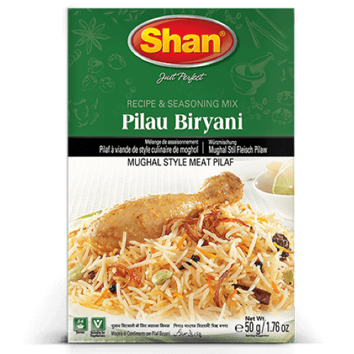 Shan Pilau Biryani Seasoning Mix 50g