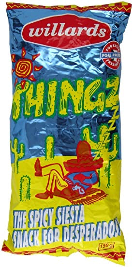 Willards Thingz Spicy Snack 150g