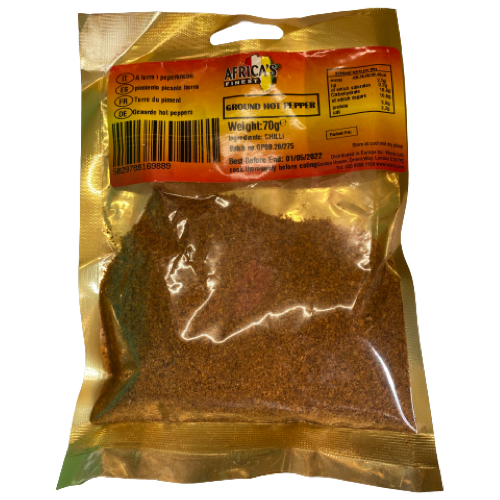 Africa's Finest Ground Hot Pepper 70g