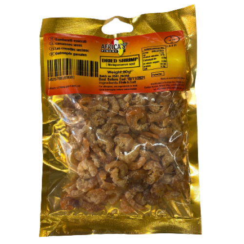 Africa's Finest Dried Shrimp 80g