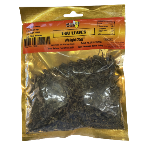 Africa's Finest Ugu Leaves 25g