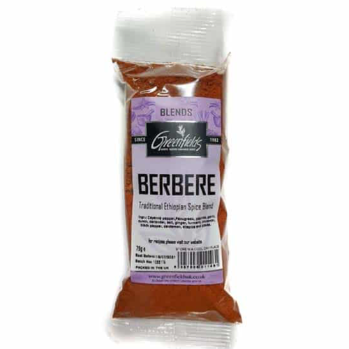 Greenfields Berbere Ethiopian Spice 75g