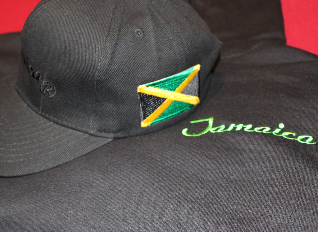 Jamaica Hoody clothing island flag