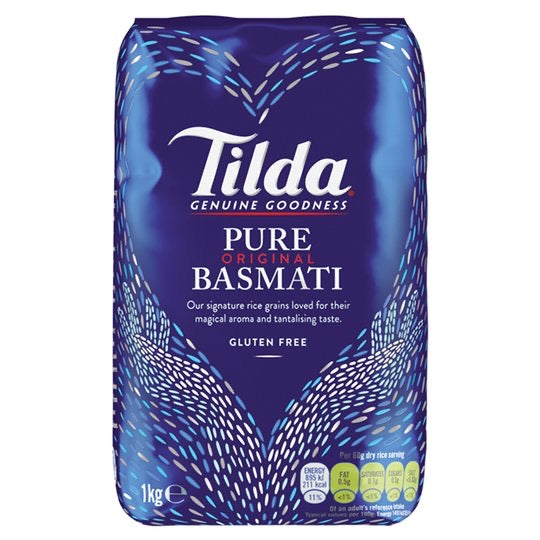Tilda Pure Original Basmati Rice 1kg