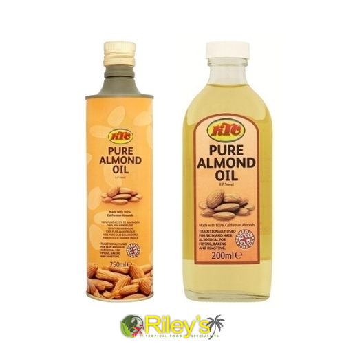 KTC 100% PURE ALMOND OIL 200ML - 750ML