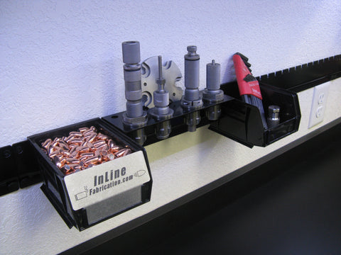 InLine Rail™  Wall mount organization system
