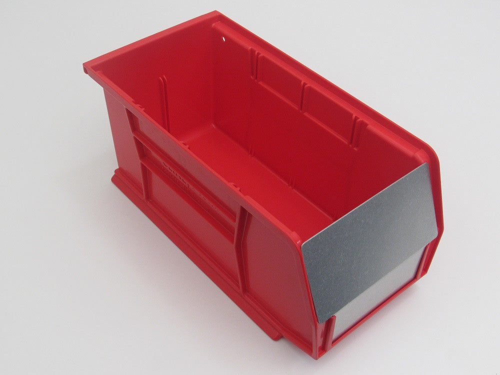 Bin barrier for jumbo ( 1050 ) bins.
