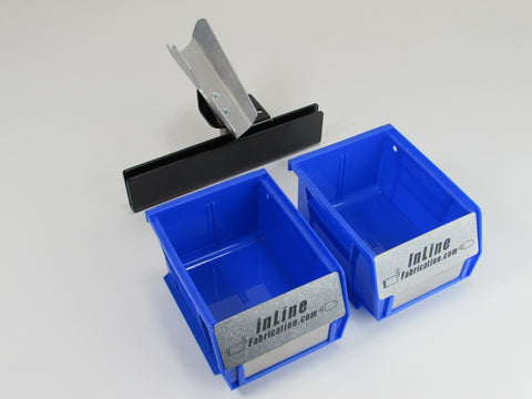 Output & empty case bin system for Dillon 550 B and C