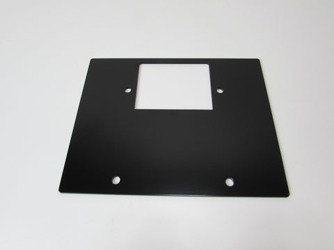 Riser plate for flush mount base plate. (Required if you are not routing the flush mount base plate into your bench.)