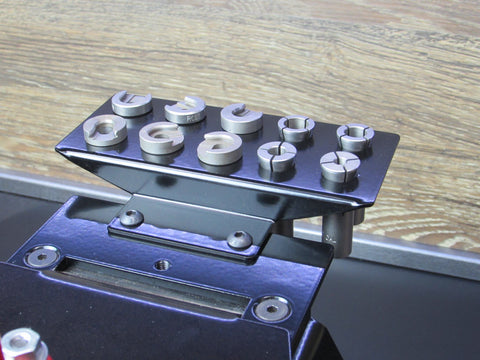 Piggyback shellholder / Collet insert rack for Ultramount